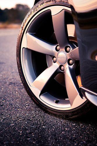 #5armrotor #titanium Audi S5 wheel
