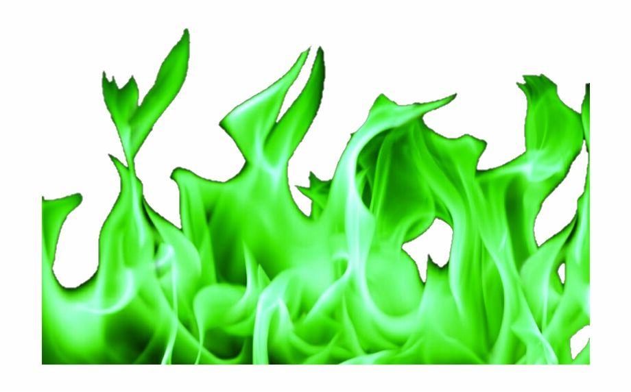 Green Flames Png Green Sticker Fire Flower Bird Birthday