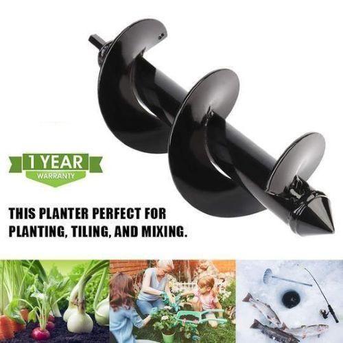 Garden Auger Spiral Drill Bit 2020 Upgraded Bedding Plants