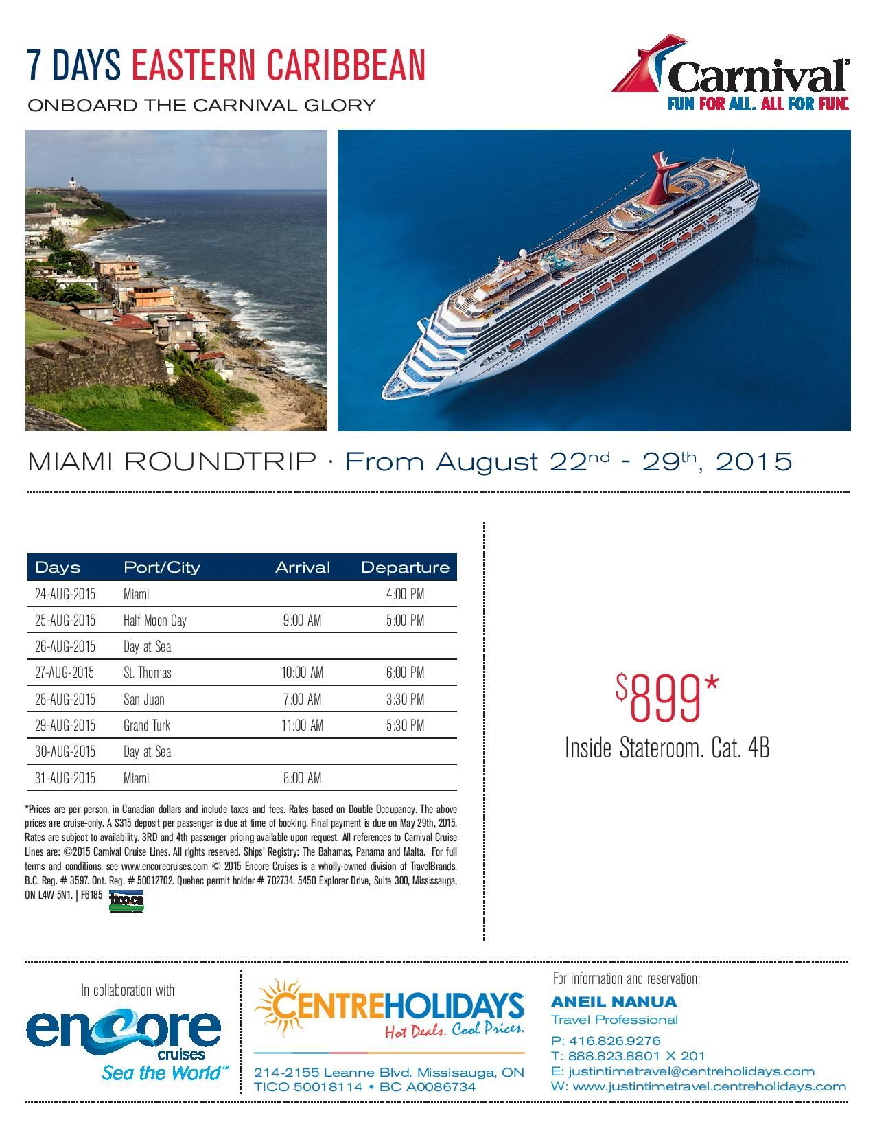 Carnival Glory Cruise Deal (With Images)