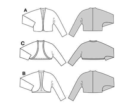 Free shrug pattern from Fabric.com - Canada Arts and Crafts ...