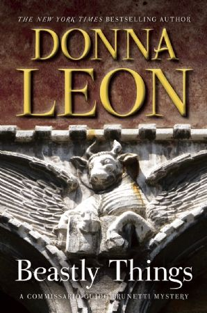 """""""When I tell you that Beastly Things, Donna Leon's 21st novel featuring Commissario Guido Brunetti of the Venice police, is one of her best, it's telling you that this writer is one in 10,000, maybe a million. No Brunetti book has ever disappointed, and this one, which takes Brunetti out of his usual zone, is riveting."""" -The Globe and Mail"""