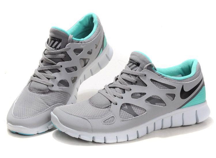 Men Free Nike AquaShoes Run2 Waterproof Gray 80ONnPkXw