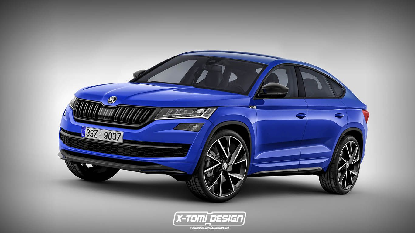 check x tomi s render of new skoda kodiaq coupe here skoda is known rh pinterest com