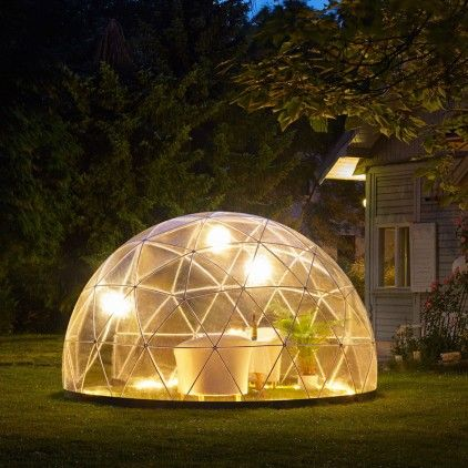 Garden Igloo 360 garden igloo 360 - multipurpose geodesic dome outdoor room