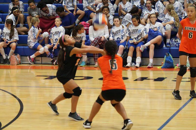 Bonham 7th Grade A Volleyball Vs Copperas Cove High School Sports Volleyball Bonham