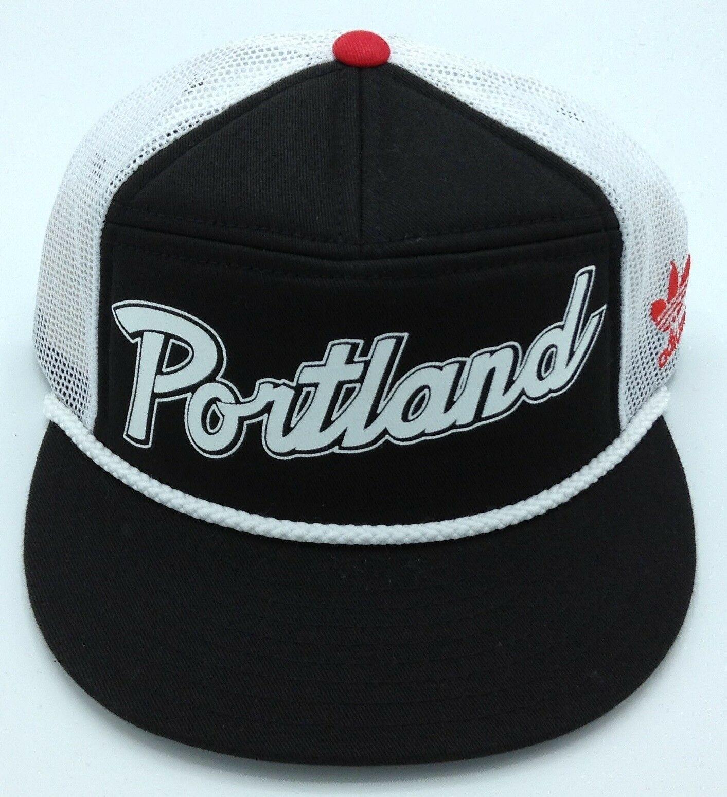 reputable site 127ec 2f247 NBA Portland Trailblazers Adidas Adult Structured Adjustable Fit Cap,  35.99