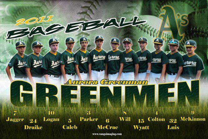 Team Poster Baseball Banner Team Banner Baseball Team Pictures