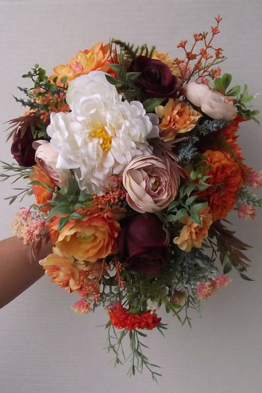 Boho wedding flowers harvest autumn wedding vintage bouquet boho wedding flowers harvest autumn wedding vintage bouquet wedding bouquet bridal izmirmasajfo