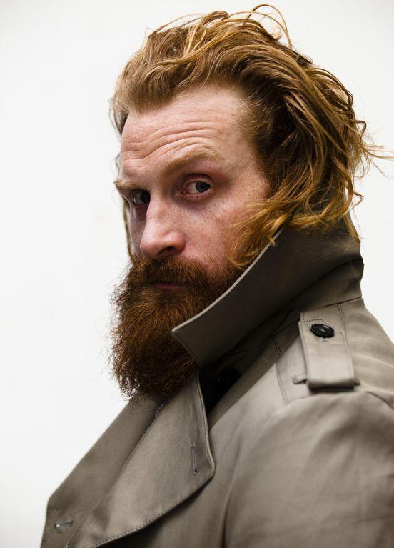 Kristofer Hivju Ginger Men Mens Hairstyles Ginger Beard