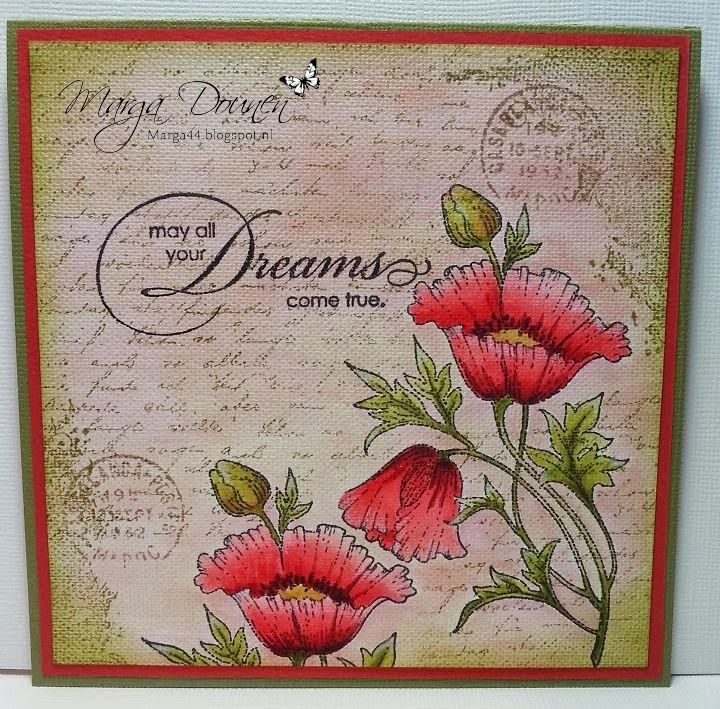 Marga's Creations: May all your dreams....