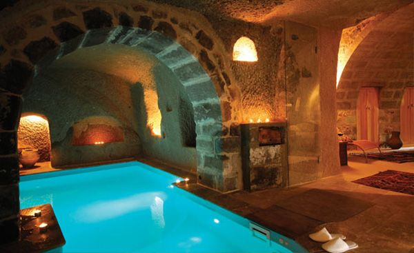 Cappadocia Retreat With Incredibly Dramatic Views Cave Hotel Underground Pool Hotels In Turkey