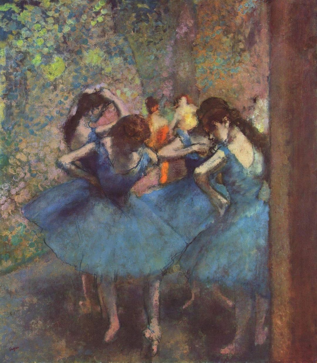 "Le vie per l'arte on Instagram ""Ballerine in blu"