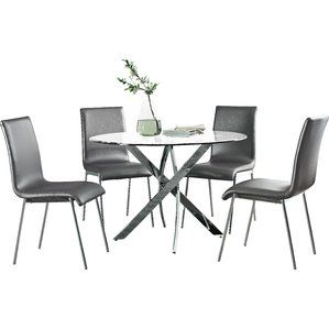Oradell 5 Piece Dining Set  Staging A Midcentury Cottage For Sale New Dining Room 5 Piece Sets 2018