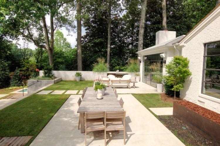 Terrasse Et Jardin: 24 Idées De Revêtement De Sol Extérieur | Idées