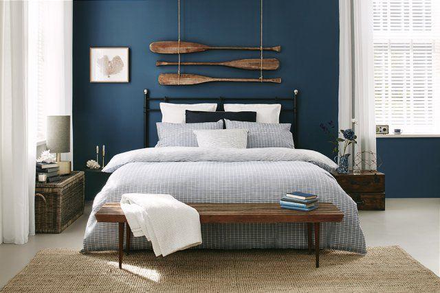 pingl par martin sur lucas chambre pinterest d cor de t te de lit jonc de mer et rames. Black Bedroom Furniture Sets. Home Design Ideas