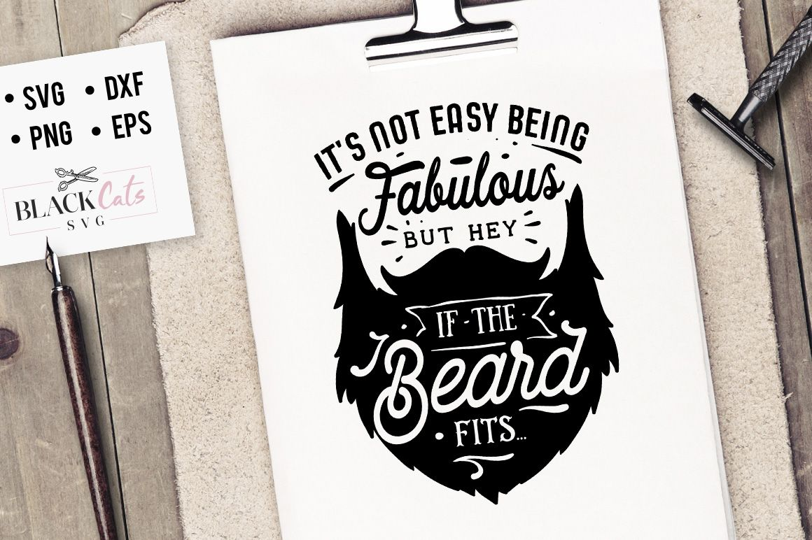 Fabulous Beard Svg Graphic By Sssilent Rage Creative Fabrica Svg Svg Files For Cricut Infographic Templates