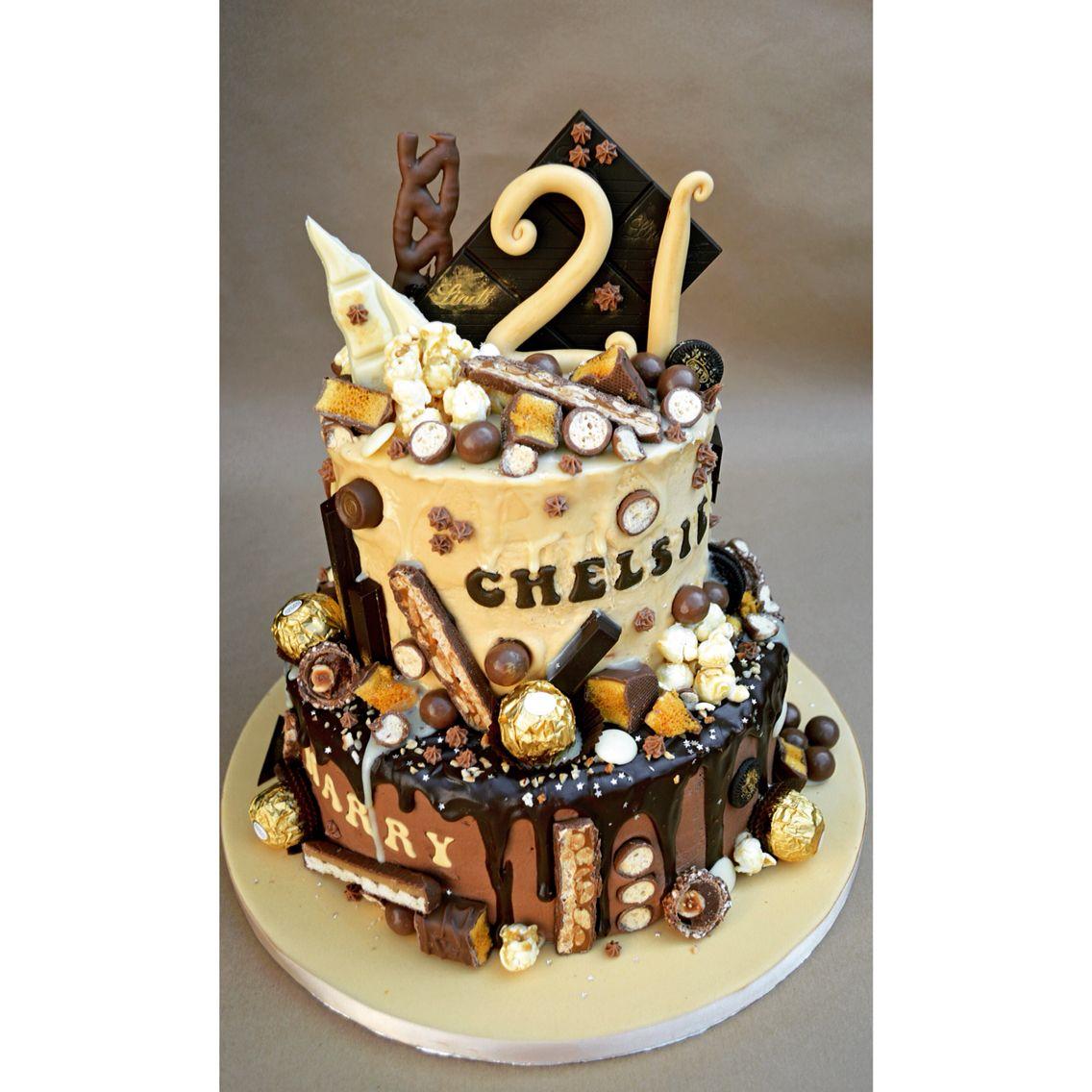 Chocolate Explosion Cake, Birthday Cake, Cake