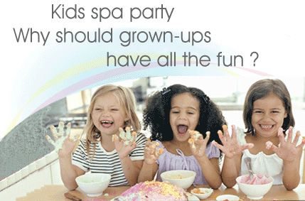 Kids Spa Parties Destin Florida Birthday