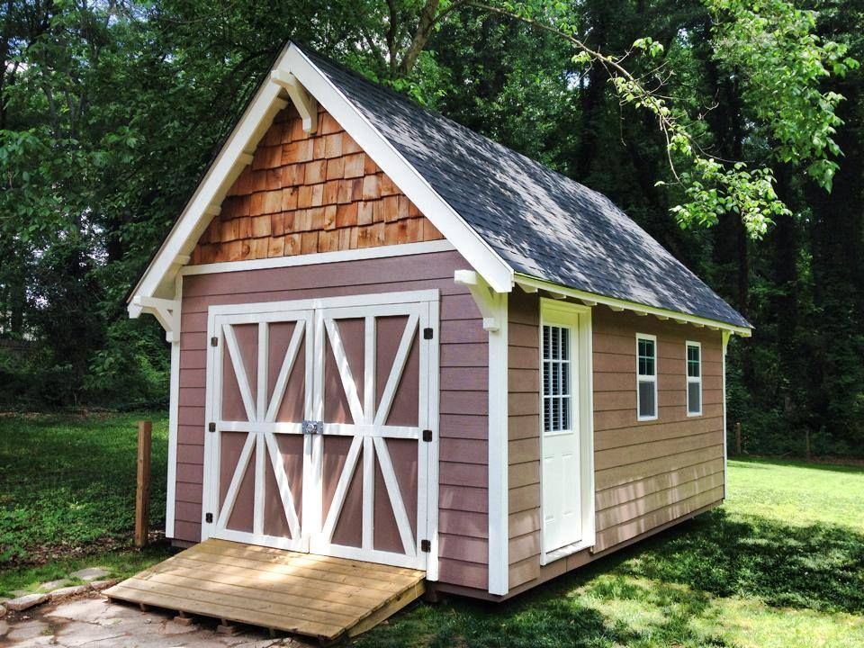Storage Sheds Atlanta #17 - Atlanta Sheds And Garage Builders, Atlanta GA Custom Utility Sheds By  Backyard Custom Construction