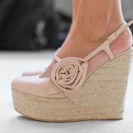 Wedges :-)    MUST OWN THESE! These have to be the CUTEST Wedges EVER!