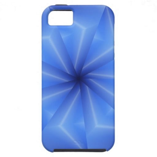 Beautiful Blue Spokes iPhone 5 Case