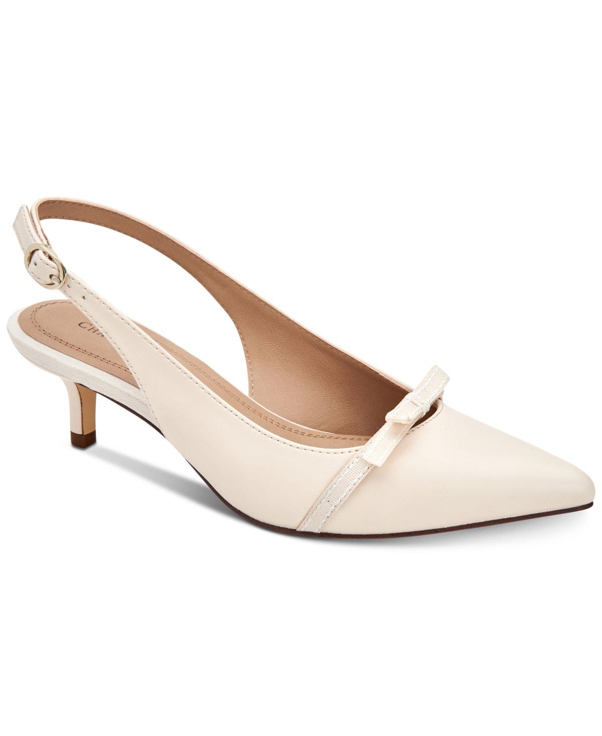 Charter Club Gilaa Heels Created For Macy S Reviews Heels Pumps Shoes Macy S Kitten Heel Shoes Heels Pump Shoes
