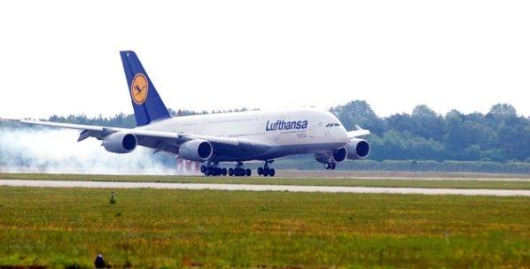 Freier Anflug auf Airport Parchim