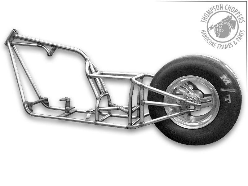 thompson choppers custom motorcycle frames | backhoe | Pinterest ...