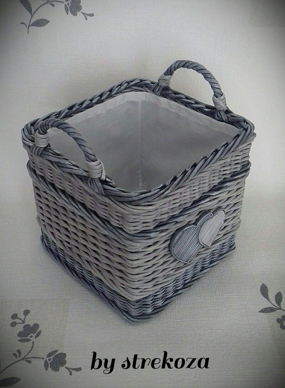 Pin de en pinterest mimbre - Reciclar cestas de mimbre ...