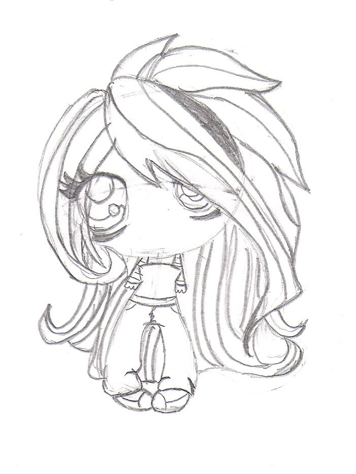 Random emo chibi drawing! | Drawings | Pinterest