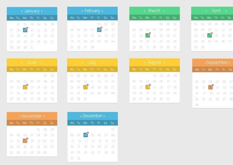 calendar design - Google Search sdyklaø, Pinterest Calendar - editorial calendar template