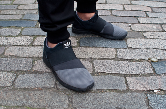 Adidas Zx Flux Slip On Shoes