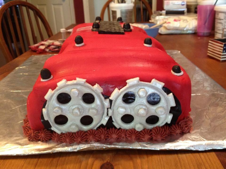 A Honda Valve Cover Cake For A Car Fanatic Honda Cake - Car engine birthday cake