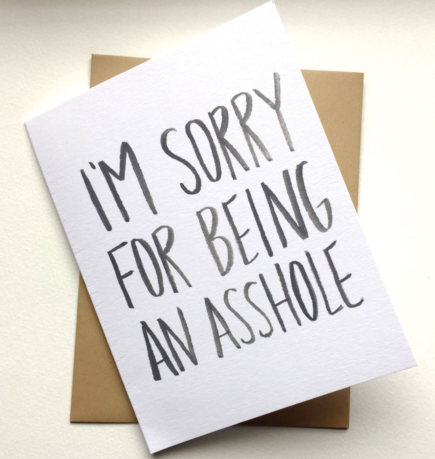 Cards for assholes