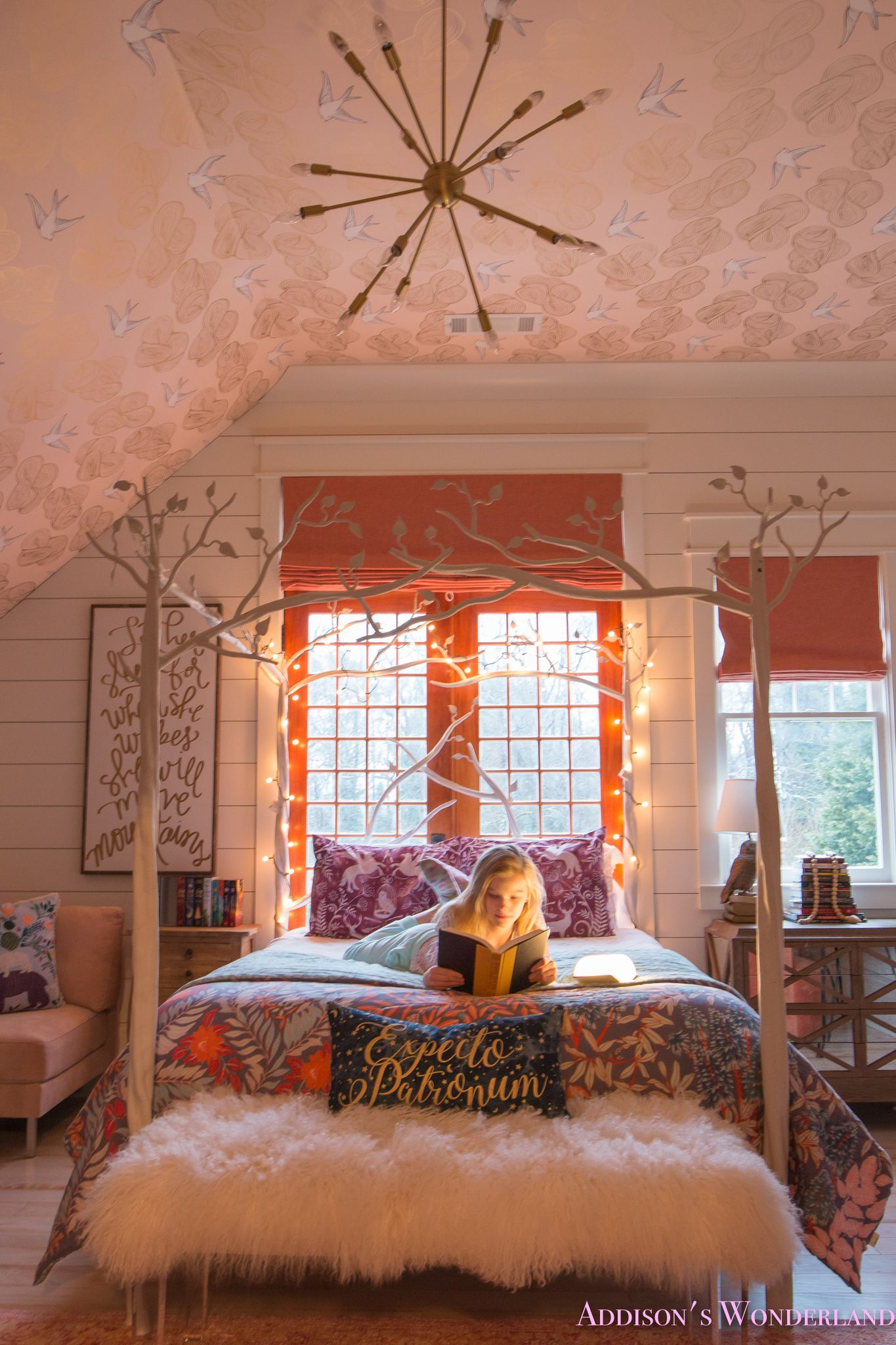Creating a Beautiful Harry Potter Themed Bedroom for Addison…