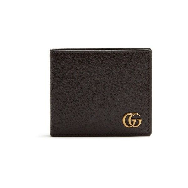 8167d8efcbc8 Gucci Marmont leather wallet (1,310 SAR) ❤ liked on Polyvore featuring men's  fashion,
