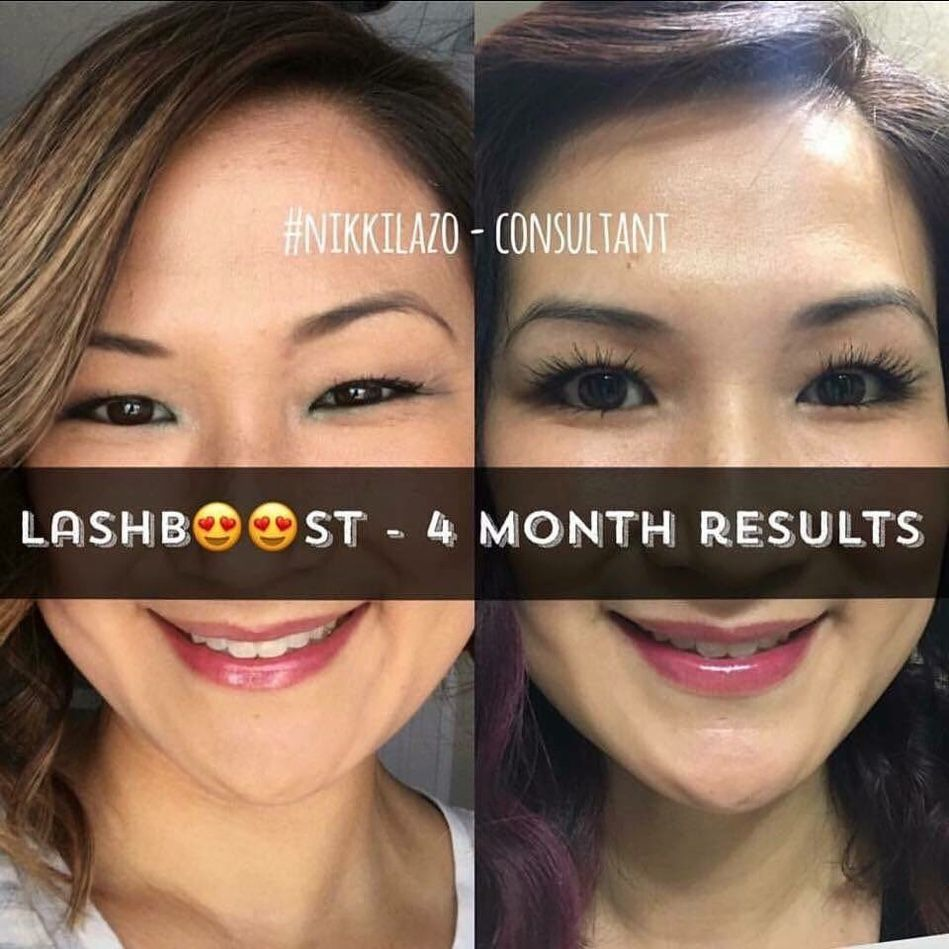 f3b6a9ad566 I am loving Nikki Lazo's results with Lash Boost!!! Here's what she said: