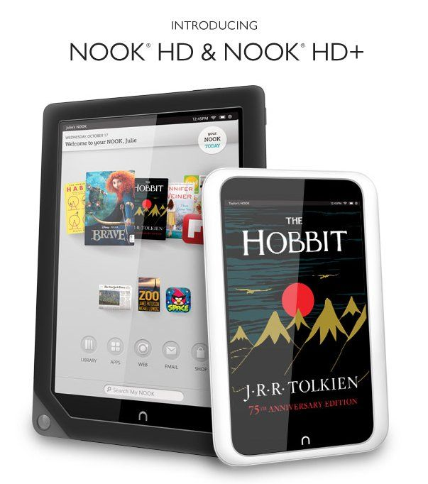 The New Nooks Are Here I M A Somebody Introducing Nook Hd And
