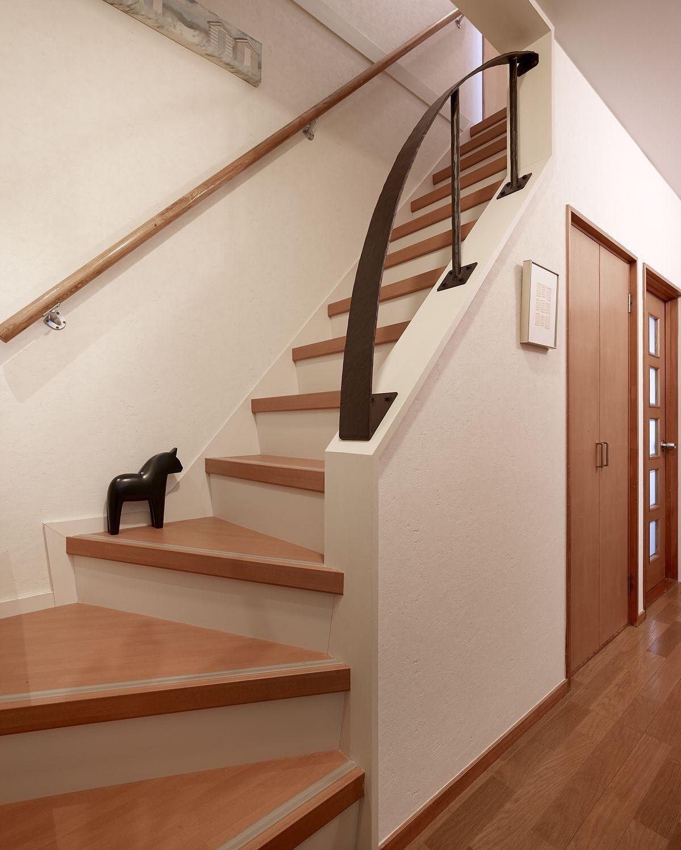 ミサワホームイングデザインリフォーム 戸建の階段をリフォーム