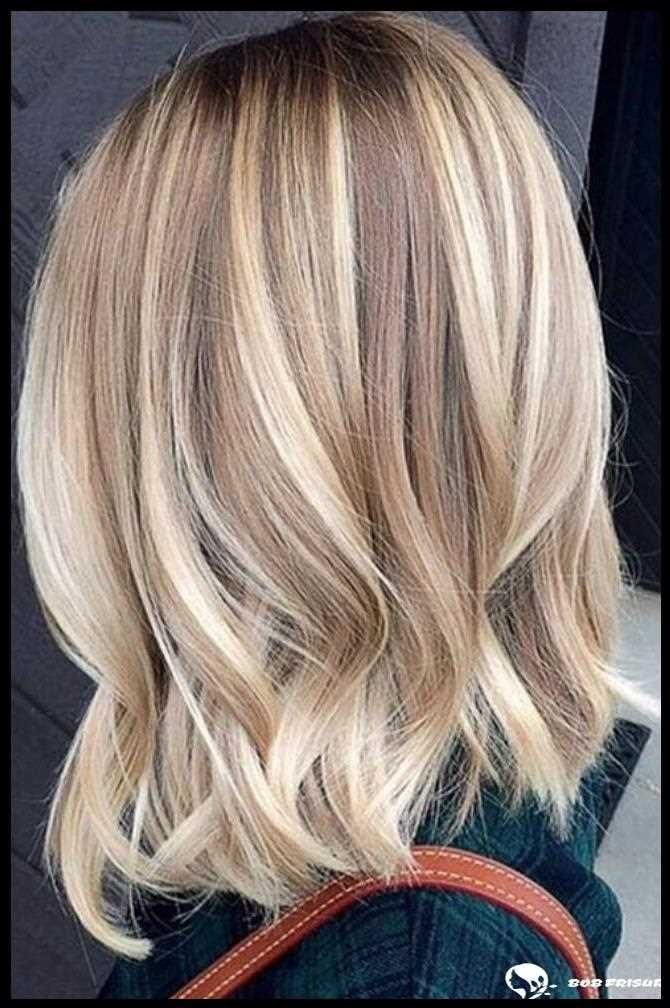 46 gorgeous balayage hair color ideas for blonde short straight hair  – gemischt