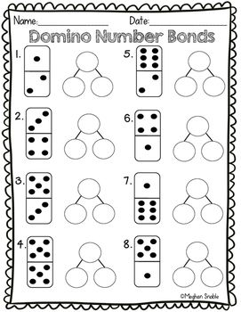 Domino Number Bond Math Activity- Engage New York Supplement in 2018 ...