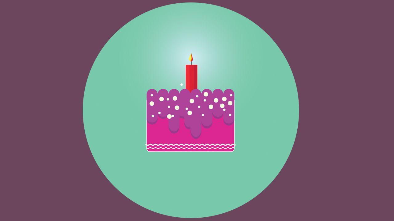 Adobe Illustrator Cs6 Flat Birthday Cake Logo Design Tutorial For