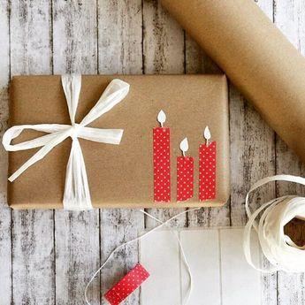 Geschenke verpacken mit Packpapier: drei Ratzfatz-Ideen - Mutti so yeah