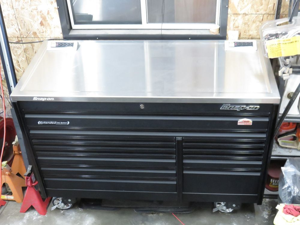 Snap On Tool Box 68 Inch Extended Cab Stainless Dual