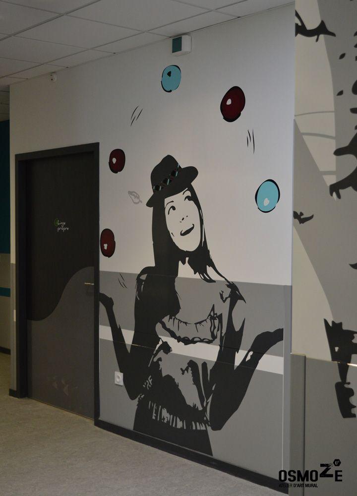 Décoration Murale & Signalétique > Entrée Unité > IME Institut ...