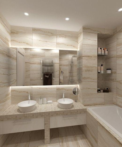 современная ванная комната фото
