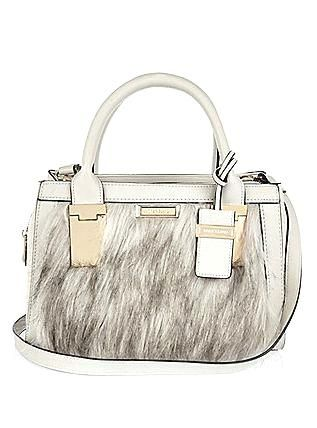 Cream mini faux fur Cream mini faux fur tote handbag £35.00  JustArrived   RiverIsland cb4ddcb0fbf34