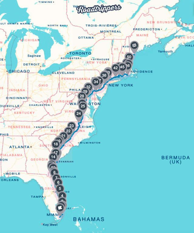 DETOUR DUJOUR: The ultimate guide to the must-see attractions along on usa east coast beach map, east coast maine map, east coast road trip map, south east coast usa map, east coast cities map, east coast driving map, east coast ports map, east coast canada map, beamng east coast usa map, east coast states map, east coast beaches map, southern east coast map, east and west coast usa map, east to west coast usa map, east coast travel map, road trip across the usa map, east coast usa weather map, american east coast map, east coast south africa map, east coast highway 1 map,