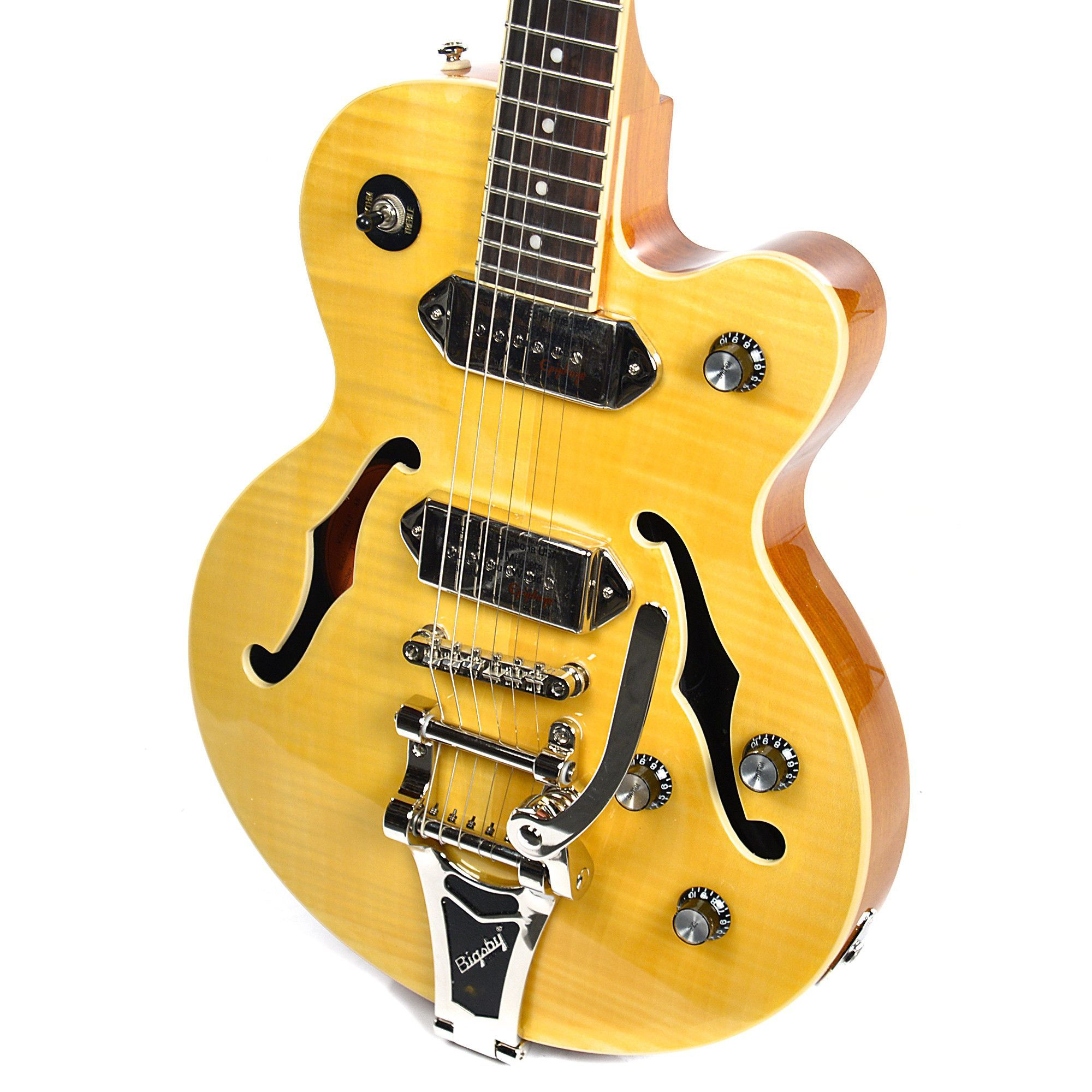 Epiphone Wildkat Antique Natural w Bigsby Vibrato